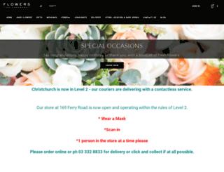flowersonholmwood.co.nz screenshot