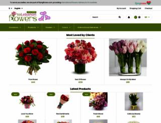 flowerstolebanon.com screenshot