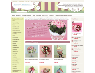 flowertothailand.com screenshot