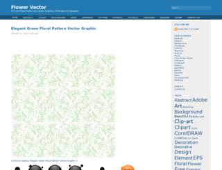 flowervector.com screenshot