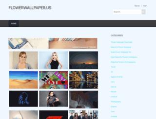 flowerwallpaper.us screenshot