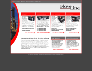 flowlinecontrols.com screenshot