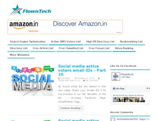 flowntech.com screenshot