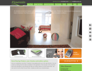 flowresin.com screenshot