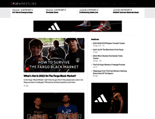 flowrestling.org screenshot