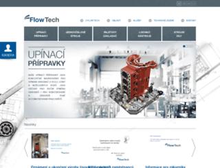 flowtech.cz screenshot