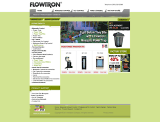 flowtron.com screenshot