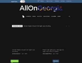 floyd.allongeorgia.com screenshot