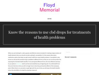 floydmemorial.com screenshot