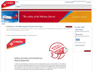 fltops.airmalta.com screenshot