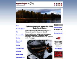 fluefiske-trysil.com screenshot