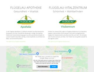 fluegelau.de screenshot