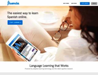 fluencia.com screenshot
