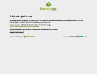 fluency.texthelp.com screenshot
