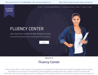 fluencycenter.org screenshot