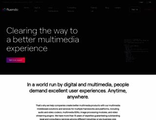 fluendo.com screenshot