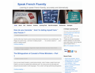 fluentfrenchnow.com screenshot