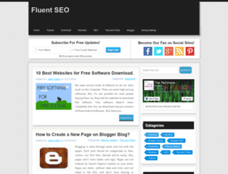 fluentseo.blogspot.com screenshot