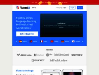 fluentu.com screenshot