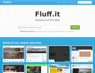 fluff.it screenshot