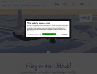 flug.kaernten.at screenshot