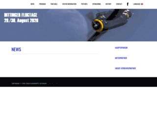 flugtage.ch screenshot