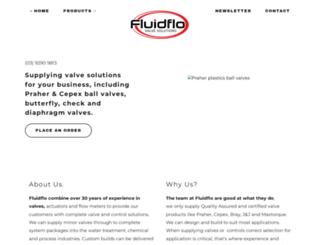 fluidflo.com.au screenshot