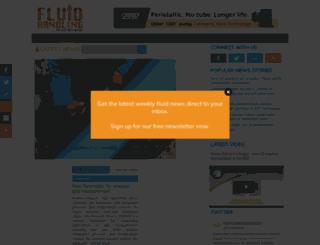 fluidhandlingmag.com screenshot