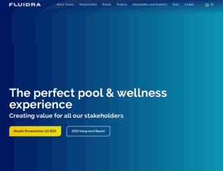fluidra.com screenshot