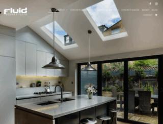 fluidstonestudio.co.uk screenshot