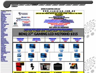 fluidtek.com.au screenshot