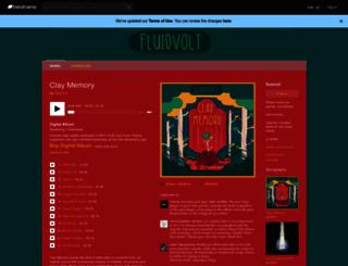 fluidvolt.bandcamp.com screenshot