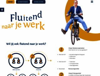 fluitendnaarjewerk.nl screenshot