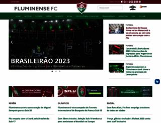 fluminense.com.br screenshot