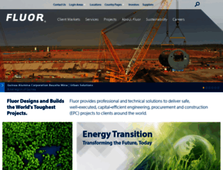 fluor.com screenshot