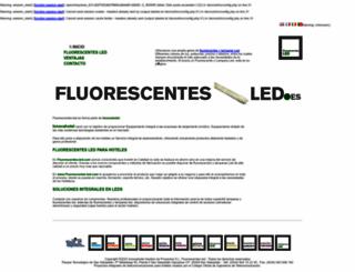 fluorescentes-led.com screenshot