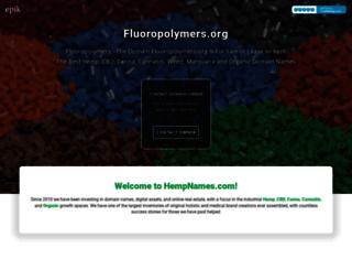 fluoropolymers.org screenshot