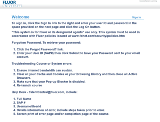 fluoruniversity.com screenshot