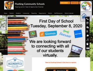 flushingschools.org screenshot