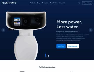 flushmate.com screenshot