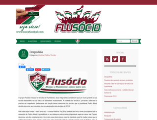 flusocio.com.br screenshot
