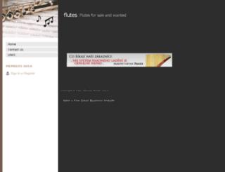 flutes4u.webs.com screenshot