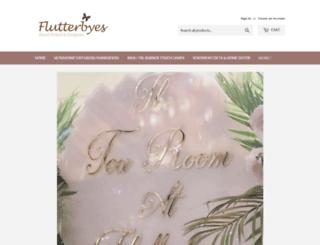 flutterbyes.co.uk screenshot