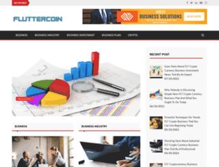 fluttercoin.us screenshot