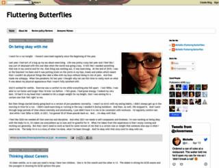flutteringbutterflies.com screenshot
