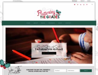 flutteringthroughfirstgrade.com screenshot