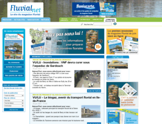 fluvialnet.com screenshot