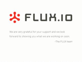 flux.io screenshot