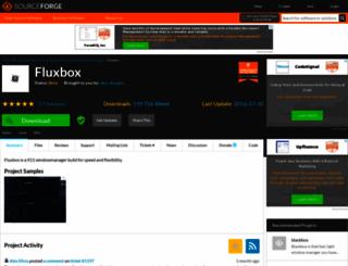 fluxbox.sourceforge.net screenshot