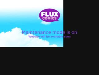 fluxcomics.com screenshot